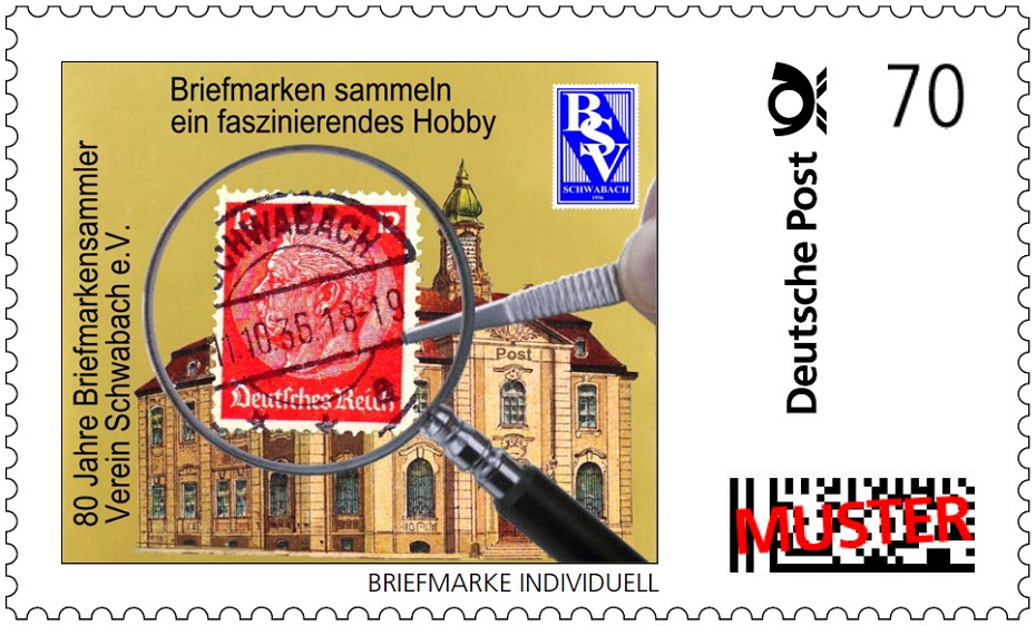 Briefmarke Jubiläum